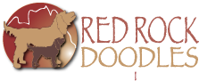 Red Rock Labradoodles Retina Logo